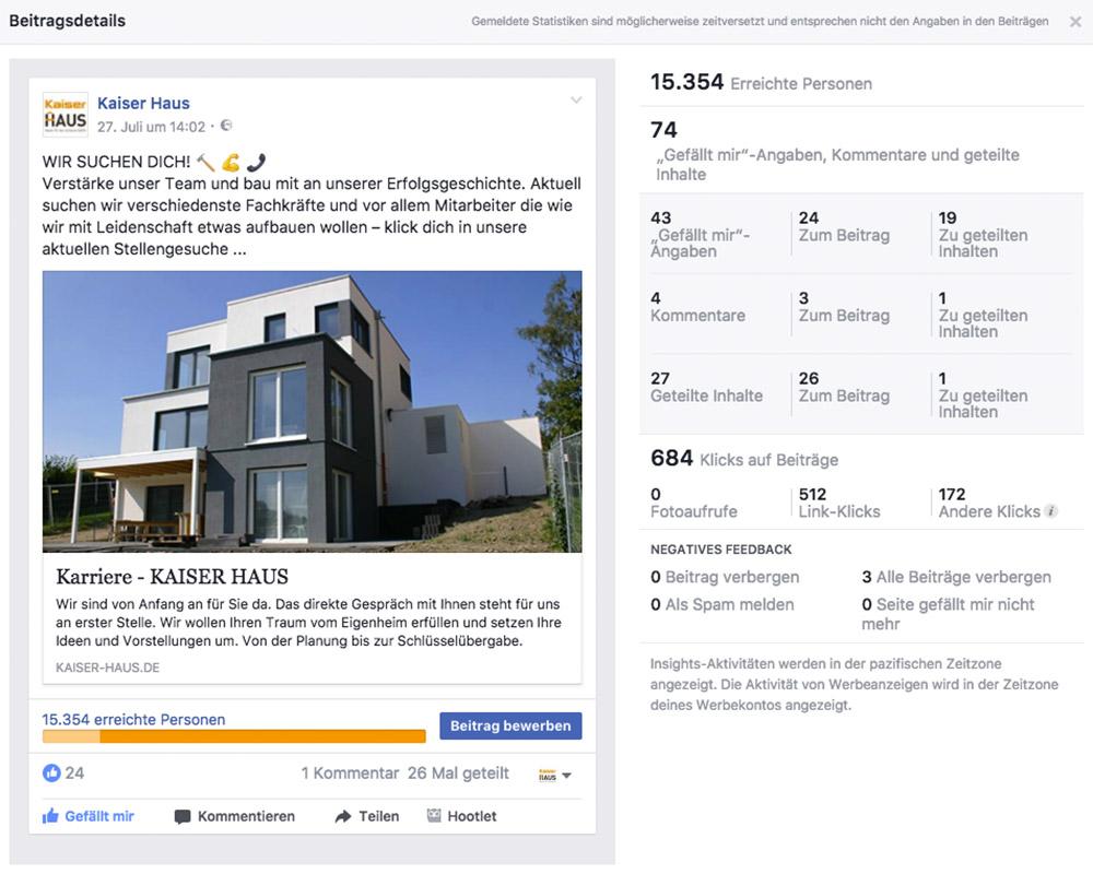 KaiserHaus – Social Media Kampagne Jobs & Karriere