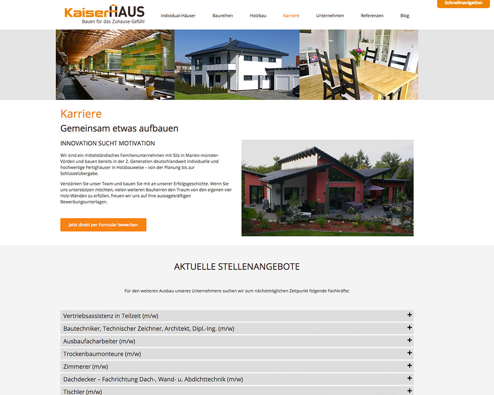 KaiserHaus – Social Media Kampagne Jobs & Karriere