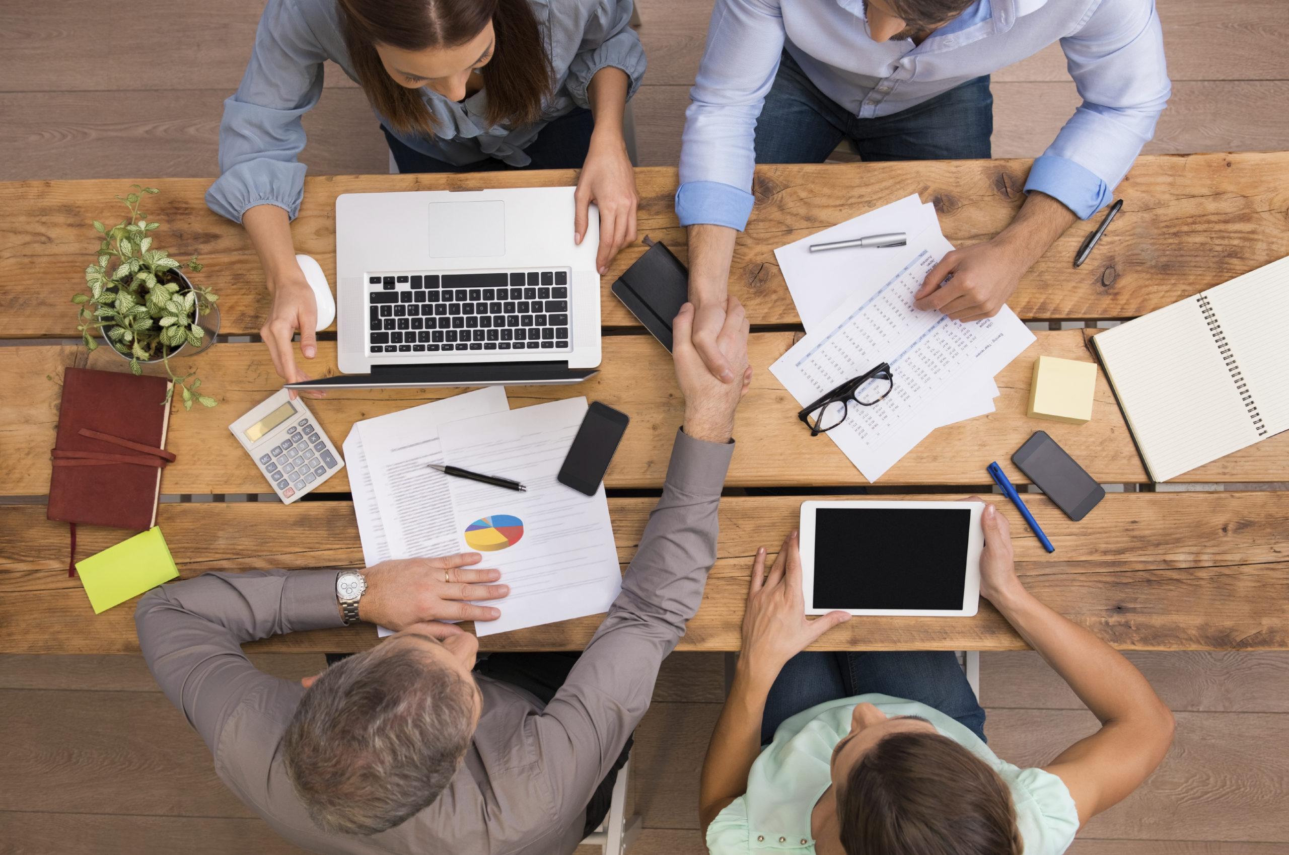 Datengestütztes Marketing Team