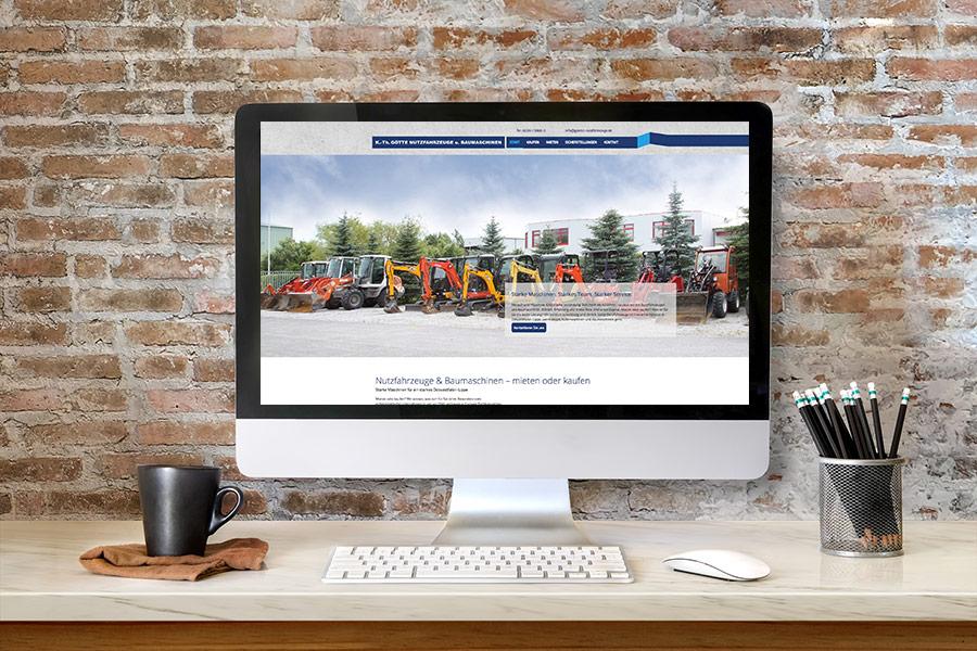 Website Redesign Götte Nutzfahrzeuge