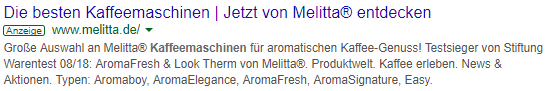 Sponsored Content auf Amazon 2