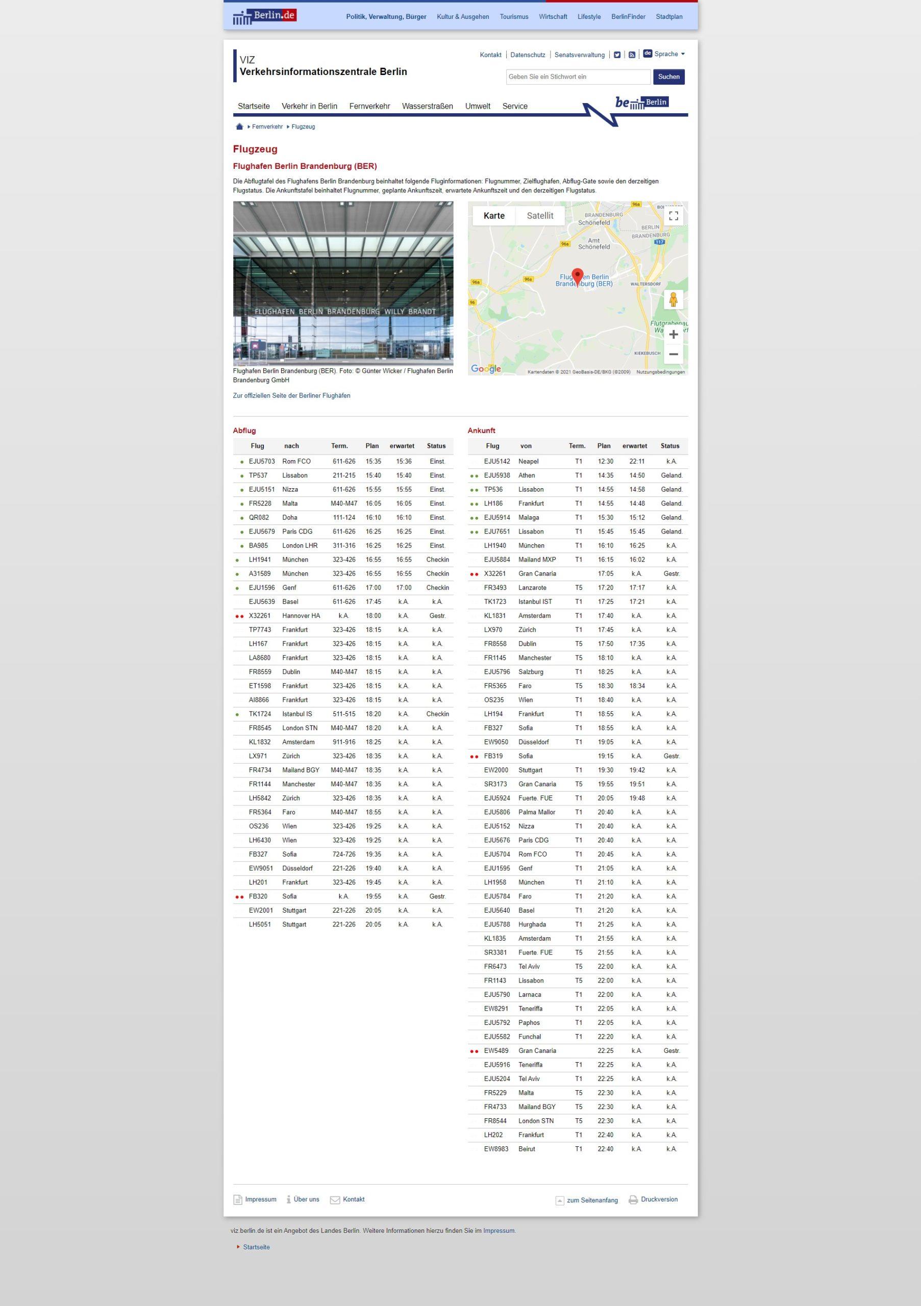 Verkehrsinformationssystem